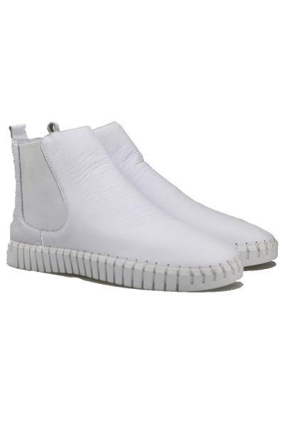 Django & Juliette Horton Sneaker Boot In White