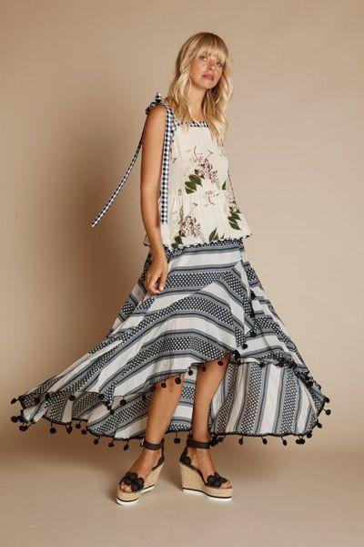 The Heirloom Skirt In Spot by Binny