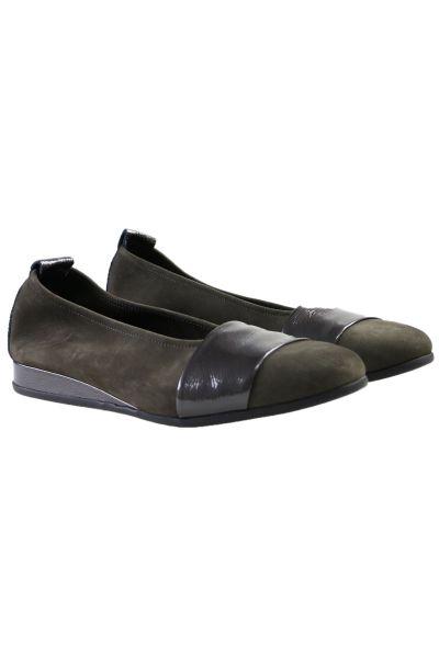Piazey Flat Shoe By Arche In Multi