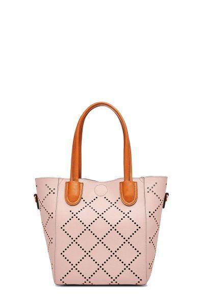 Baby Bermuda Bag By Louenhide In Pale Pink