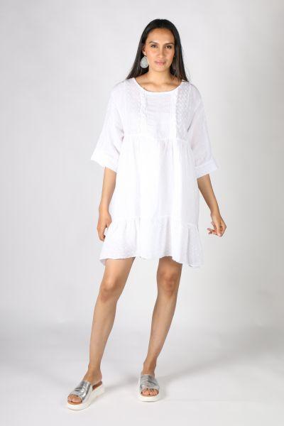Ridley Chloe Dress In White