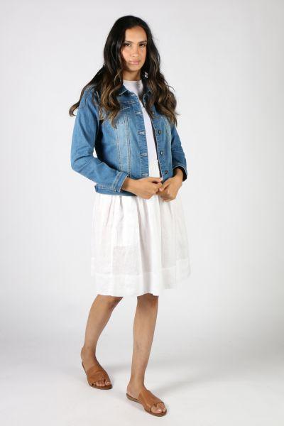 Frockk Zoe Skirt In White