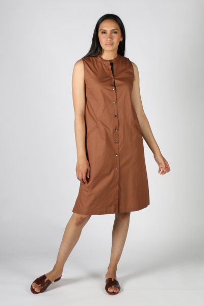 Bagruu Baku Dress In Bark