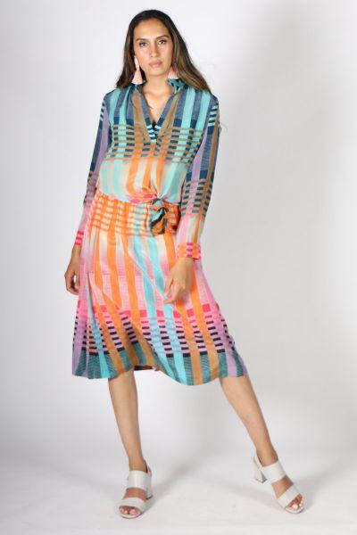 Printed Rasa Nisha M Goli Skirt In Print