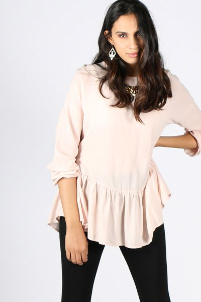 Flounce Blouse By Ottod'Ame In Pink
