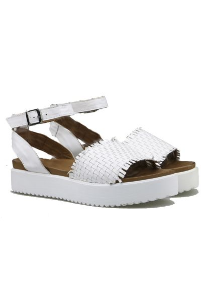 Sala Spring Sandal In White