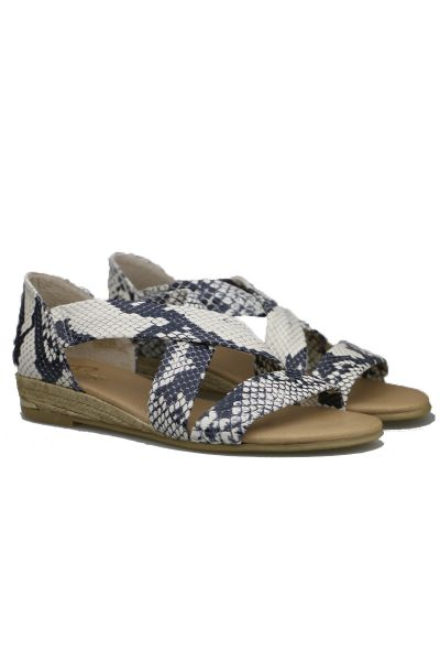 Claire Espadrille By Pinaz In Snake