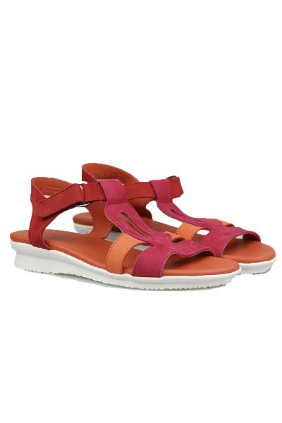 Arche Aurest Sandal In Red
