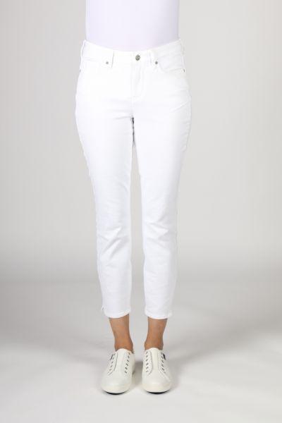 NYDJ Alina Skinny Ankle Jean In White
