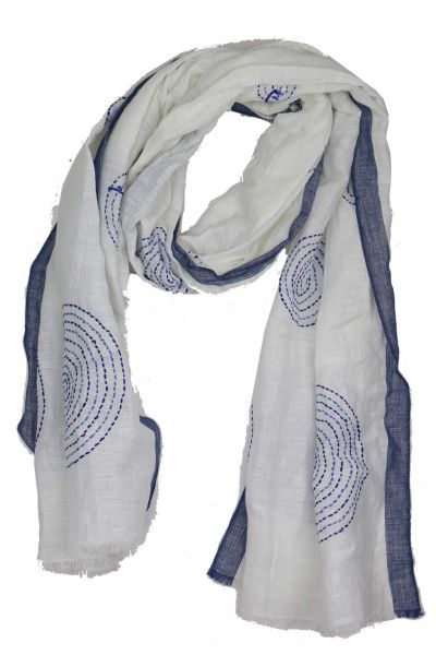 Directions Infinitee Scarf in White