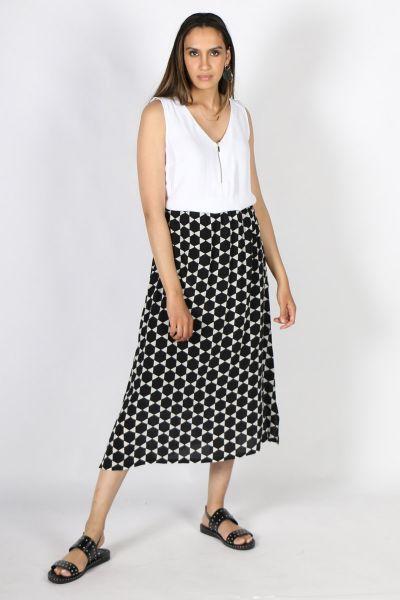 Printed Rasa Nisha Moon Skirt