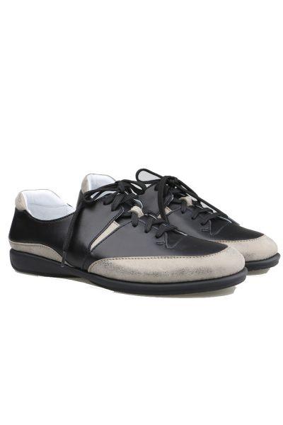Relax Contrast Sneaker In Black