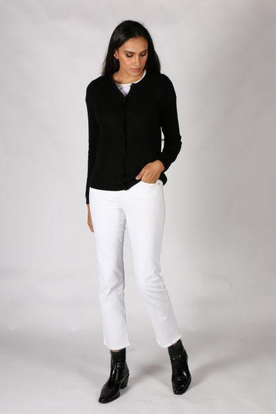 Coster Cashmere Cardi In Black