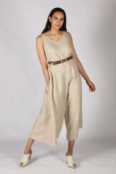 Haris Cotton Jumpsuit In Natural