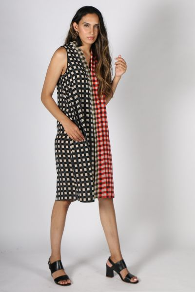Printed Rasa Bella Chatt Dress In Multi