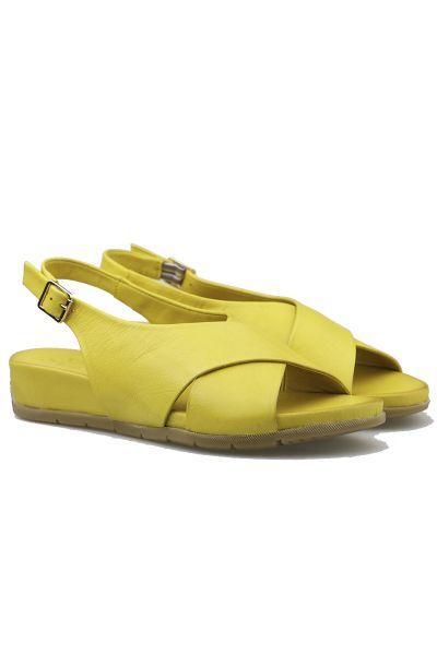 Sala Bounce Sandal In Yellow