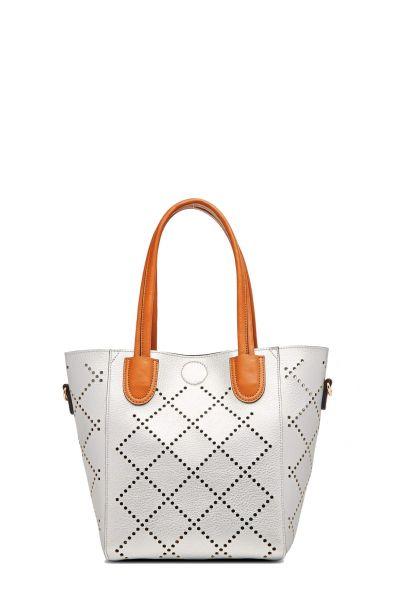 Baby Bermuda Bag By Louenhide In Silver