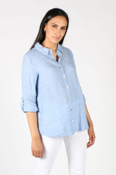 Hammock & Vine San Remo Linen Shirt