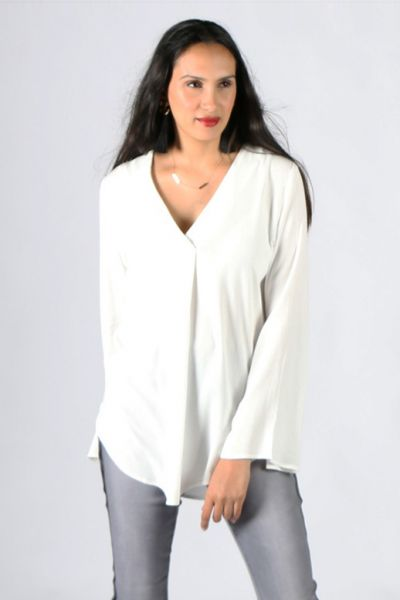 Chalice Magnolia Top In Ivory