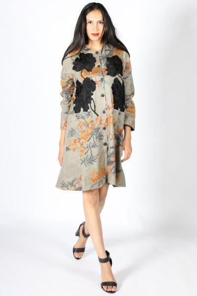 Toyko Coat by Megan Salmon