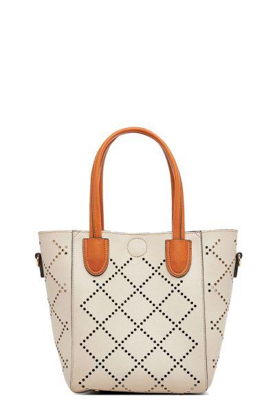 Baby Bermuda Bag By Louenhide In Putty