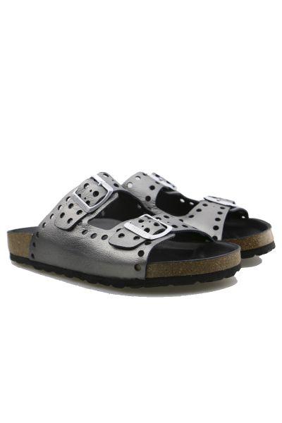Verbenas Rene Sandal in Metal