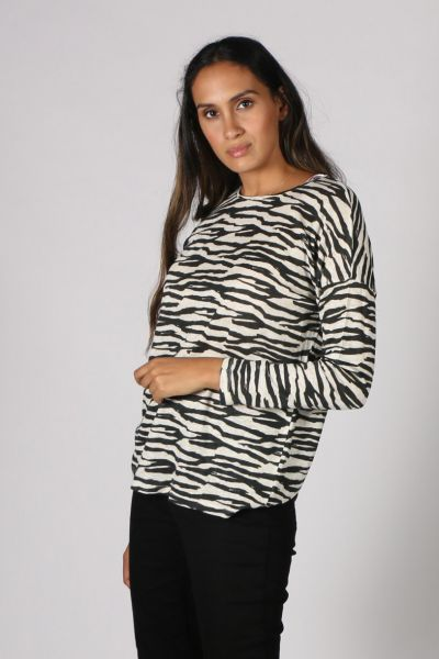 Jump Zebra Print Tee