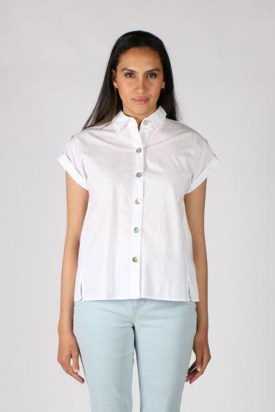XCVI Arlo Skirt In White