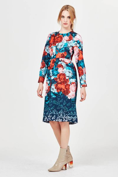 Trelise Cooper Princess And The Peony Dress In Print
