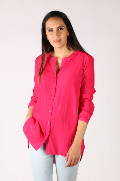 Foil Killing Me Softly Blouse In Pink