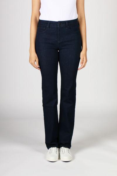 NYDJ Marilyn Straight Cut Jeans In Rinse