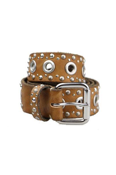 Eyelet Belt By B.Belt In Cognac