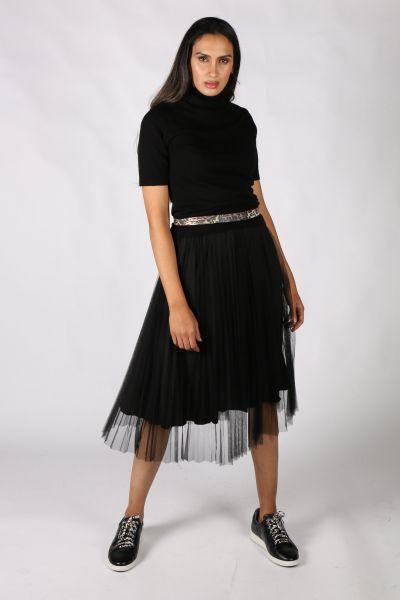 Hammock & Vine Tulle Skirt In Black