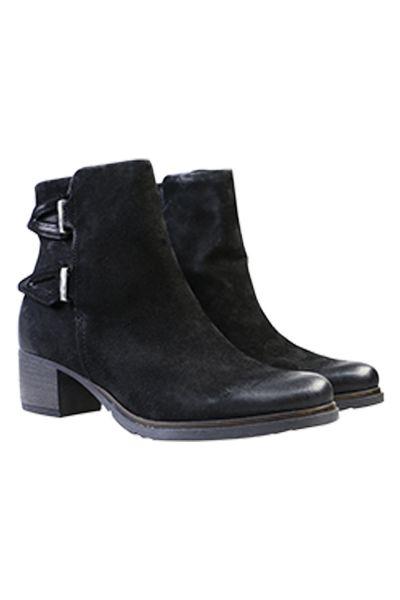 Winter Ankle Boot in Black by Sempre Di