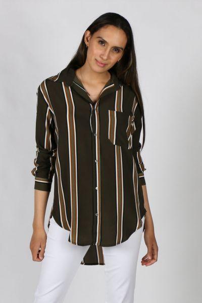 Chalice Desert Dreaming Shirt in Stripe