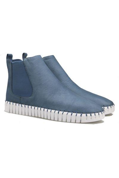 Django & Juliette Horton Sneaker Boot In Blue