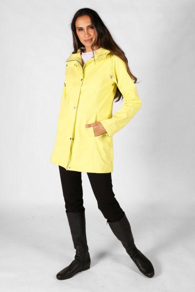 Ilse Jacobsen Hooded Raincoat In Sun
