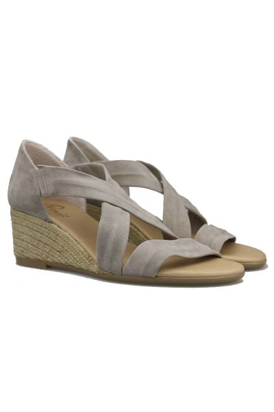 Claire High Espadrille By Pinaz In Africa