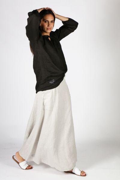 Bohemia Valise Skirt In Grey