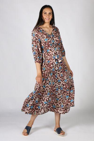 Rubyyaya Sabor Maxi Dress In Print