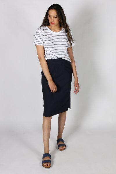 Verge Desiree Skirt In Ink