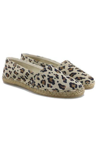 Macarena Dama Flat In Leopard