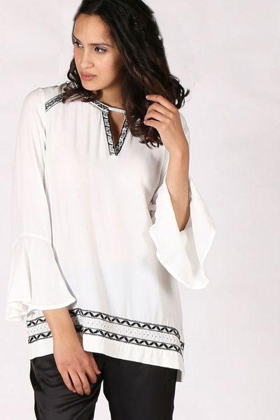 Verge Kayley Top In White