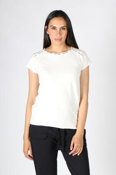Yerse Sunny Tshirt In White