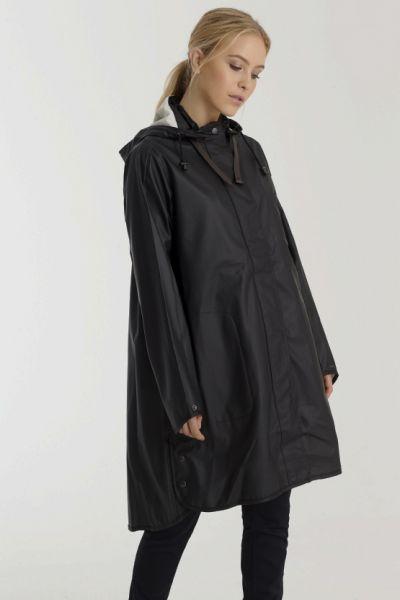 Ilse Jacobsen Raincoat In Black