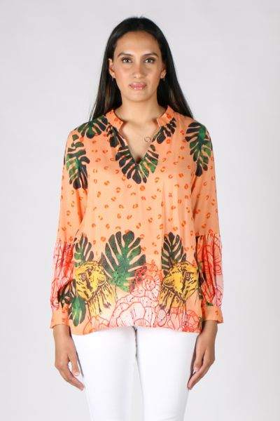 Rubyyaya Cheetah Shirt In Print
