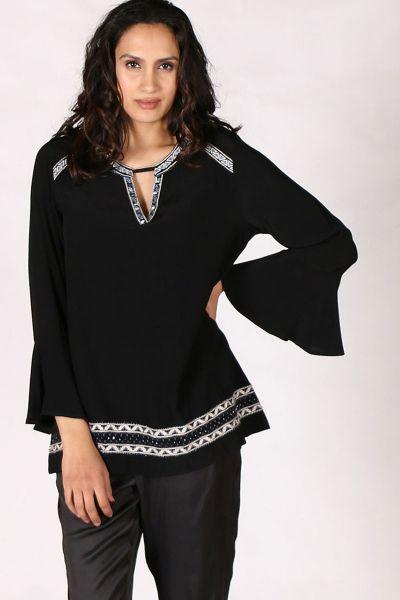Verge Kayley Top In Black