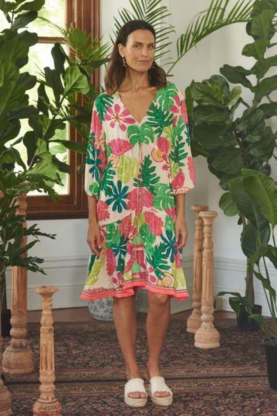 Rubyyaya Tropicana Dress In Print
