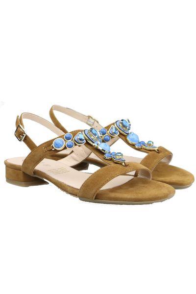 Quait Aqua Sandal In Tan