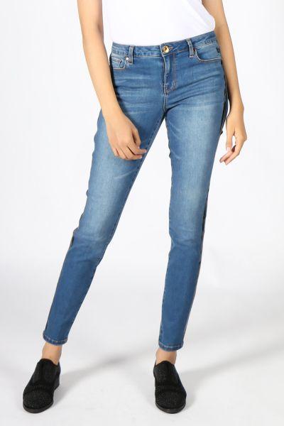 Pako Litto Stripe Jean In Denim